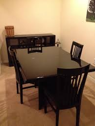 craigslist dining table and chairs best gallery tables furniture throughout kitchen sets oak room nottingham modern