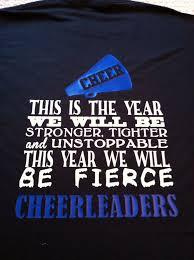 Cute Cheer T Shirt Designs Cute For My Jm This Year Fierce Cheerleaders Cheer