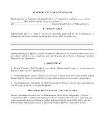 with material construction agreement general construction contract template electrical contract document