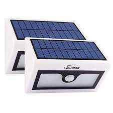volador 2 packs 50 led solar lights