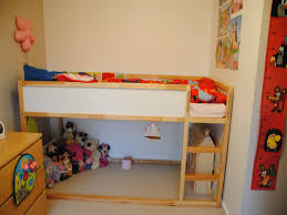 Kids Bedroom Ikea Kids Bunk Beds Bright And Happy Shared Girls Roomlove The Quilts