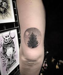 Tree In A Circle Tattoo Tattoogridnet