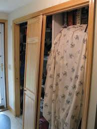 Mirror Bifold Closet Doors. How To Update Flat Closet Doors To ...