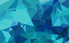 Blue Pattern Wallpaper Cool Vc48triangleofbluepatterns Papersco