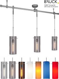 bruck lighting track systems. Miraculous Bruck Lighting Zonyx Pendant Track Kit Monorail Systems G