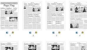 Free Indesign Newspaper Template Adobe Indesign Newspaper Templates Free Icebergcoworking