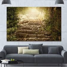 Holy Light Art Amazon Com Design Art Designart Holy Light And Upstairs