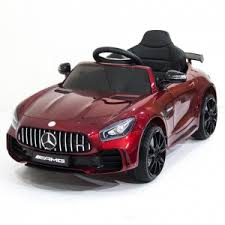 Детский <b>электромобиль Harleybella Mercedes Benz</b> AMG <b>GT</b> R ...