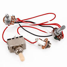 guitar wiring harness 1v1t 500k 3way toggle switch electric guitar 2 electric guitar wiring harness on ebay guitar wiring harness 1v1t 500k 3way toggle switch electric guitar 2 humbucker
