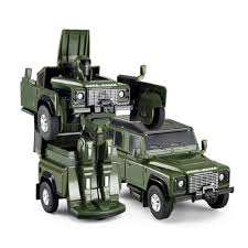 cast 1 32 scale land rover defender transformable car