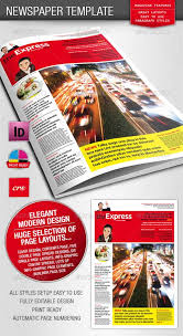 Free Indesign Newspaper Template Newspaper Template Indesign Free Magdalene Project Org