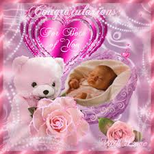 Congratulate On New Baby For A Baby Girl Free New Baby Ecards Greeting Cards 123 Greetings