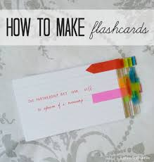 What Is The Best Way To Make Your Own FlashcardsMake Flash Cards
