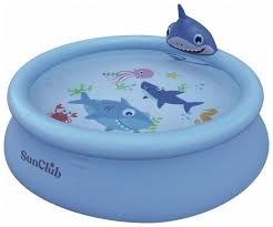 Детский <b>бассейн Jilong Shark</b> 3d Spray, 190 см (17822) — купить ...