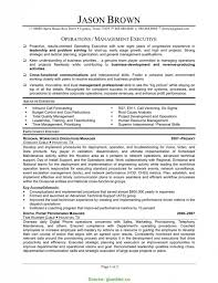Complex Operations Manager Cv Uk Plant Manager Resumes