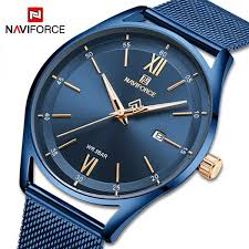 NAVIFORCE Fashion Couple <b>Watches Luxury Lovers Wristwatch</b> ...