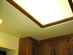 fluorescent kitchen ceiling lights uk lighting light fixture covers replacement s cover clips