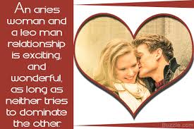 Leo And Aries Compatibility Chart Truth About The Compatibility Between An Aries Woman And A
