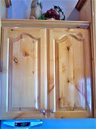 Knotty Alder Wood Cabinets Refinished Knotty Alderwood Cabinets