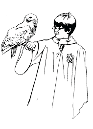 Harry Potter Coloring Page Easy Harry Potter Coloring Pages