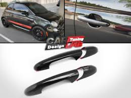 image is loading black glossy door handles cover trim set for