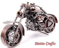 metal motorbike model home gifts iron crafts image