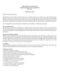 Parent Letters From Teachers Template Pinar Kubkireklamowe Co
