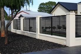 Fence design elegant and beautiful