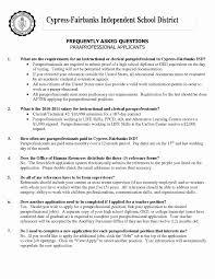 Paraprofessional Job Description For Resume New Paraprofessional