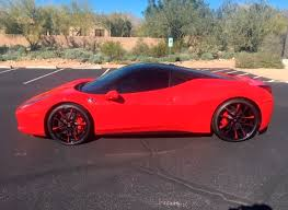A very fast berlinetta designed by pininfarina, it was built mainly from composites. 2013 Ferrari 458 F44 1 Glendale 2020