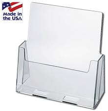 Acrylic Flyer Display Stand Countertop Brochure Holders Acrylic Literature Holder 44