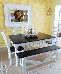 Painting Dining Room Table Black Dining Room Ideas
