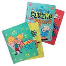 12 nickelodeon splat college ruled notebook 4pk exclusive