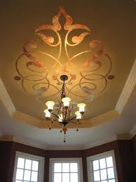 chandelier stencils for walls painting artist with variegated leaf chandelier stencils for walls painting