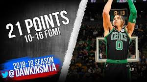 Jayson Tatum Full Highlights 2018.12.10 Celtics vs Pelicans - 21 Pts 10-16  FGM! | FreeDawkins | Jayson tatum, Tatum, Celebrity news