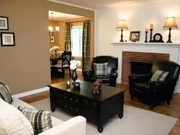 living room with brick fireplace decorating ideas
