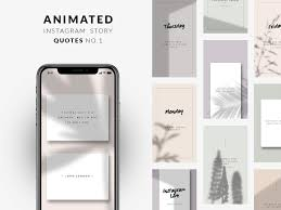 Animated Instagram Story Quotes No1 By Social Media Templates On