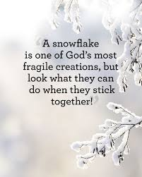 Snowflake Love Quotes Interesting 48 Absolutely Beautiful Quotes About Snow Our Favorite Quotes