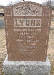 Annie Sheridan Lyons (1867-1936) - Find A Grave Memorial