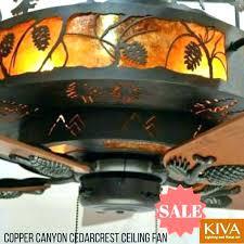 cabin ceiling fans vaxcel log fan themed light kit cabin ceiling fans