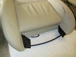 bmw e92 driver seat sport bottom leather creambeige oem 335i 328i coupe