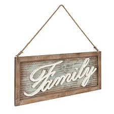 metal with rustic brown wooden frame