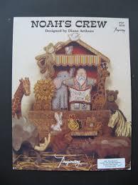 Diane Arthurs Cross Stitch Designs Noahs Crew Counted Cross Stitch Pattern Designed By Diane