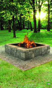 rustic fire pit. Add Warm Ambiance To Your Outdoor Space With The Rustic Fire Pit. Constructed Of Belgian Blocks, This DIY Pit Requires No Cutting And Can Be Assembled E