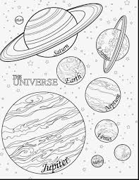 Coloring Pages Free Solar System Coloring Pages For Kids Middle