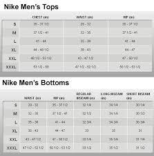 Nike Swim Short Size Chart 51 Hand Picked Nike Tracksuit Size Chart