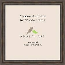 art photo frame choose your custom size rustic pine 32x32 to 32x47 traditional picture frames by amanti art