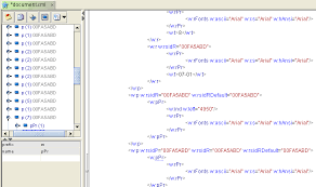 Viewing Xml File Open Xml Editor
