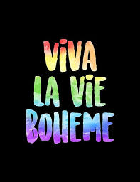 Rent Poster Viva La Vie Boheme Rent Posters By Aimee Draws Redbubble