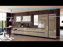 Black And Silver Kitchen Designs Modern Style Kitchen Decor Design Ideas Picture Youtube